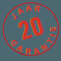 20 jaar garantie Postura+ stoelen