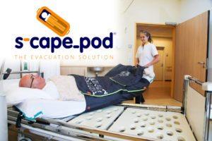 Veilig en snel patiënten evacueren met de S-capepod