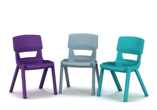 niet schommelbare stoelen